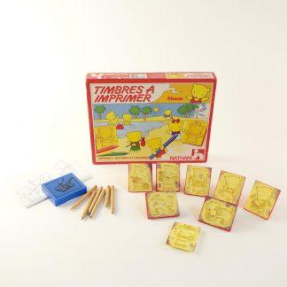 timbres-a-imprimer-ploum-vintage-base
