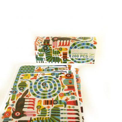 puzzle-gallery-zebrissimo-200-pcs-djeco-1