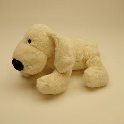 peluche-chien-blanc-allonge-2
