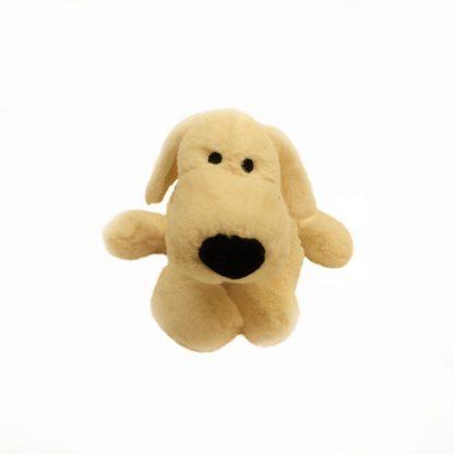 peluche-chien-blanc-allonge-base