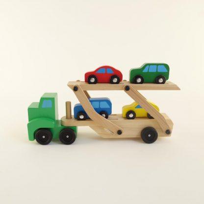 camion-en-bois-transport-de-voitures-base